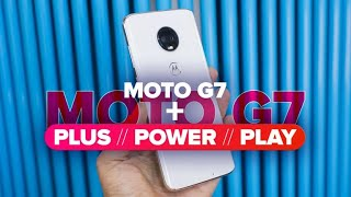 Moto G7: primeras impresiones. Moto G7 Plus, G7 Power y G7 Play en acción