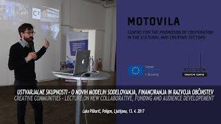 Creative Communities – public lecture by Luka Piškorič