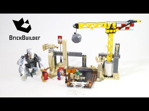 Vidéo LEGO Marvel 76037 : L'équipe de super vilains de Rhino et l'homme-sable