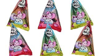 Moj Moj Sunnies Blind Bag Mochi Squishies Unboxing Toy Review
