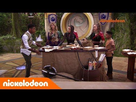 L'école des Chevaliers | Sortilège de Secours | Nickelodeon France