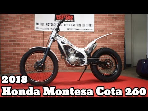 2018 Honda Montesa Cota 4RT260 in Mentor, Ohio