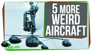 5 More Strange Flying Machines