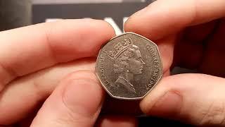 DANS DOLLARS BEST BUYS #11 - 1997 50P COIN GIBRALTAR!