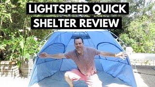 Lightspeed Quick Shelter Review