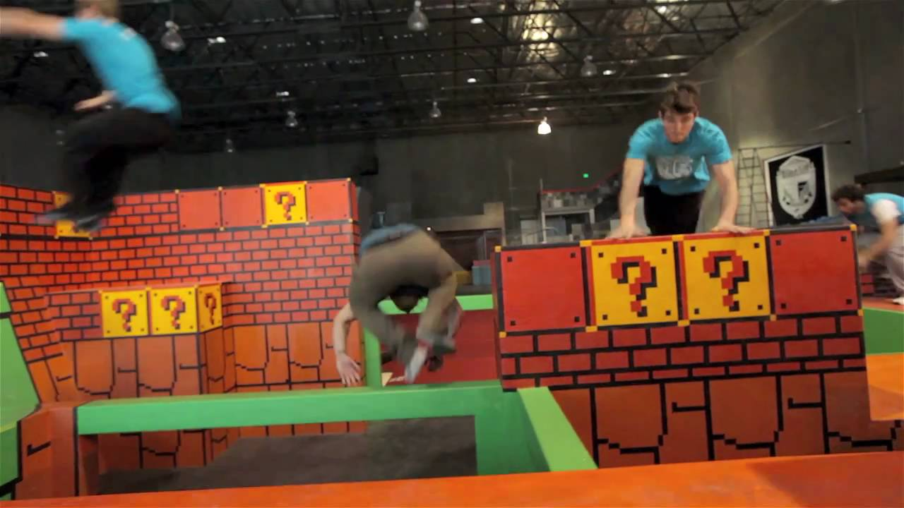 LA Freerunning Academy Is A Donkey Kong Playground For Adults