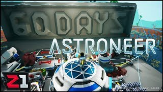 Challenge #1 COMPLETE ! 60 Days of Astroneer Day 1 | Z1 Gaming