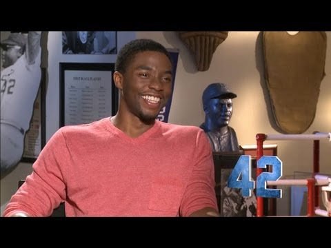 Chadwick Boseman - 42 Interview HD