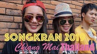 Songkran Chiang Mai - Thailand 2019
