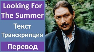 Chris Rea - Looking For The Summer - текст, перевод, транскрипция