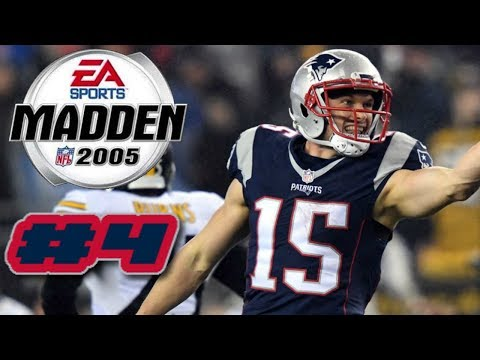 Madden NFL 2005 PS2 2019 New England Patriots Franchise Mode Ep.4 (JETS COMEBACK?!)