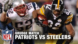 Patriots vs. Steelers 2004 AFC Championship Game   Grudge Match   NFL NOW