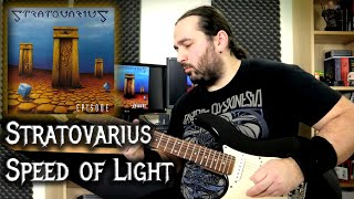 Stratovarius – Speed of Light (Guitar Playthrough)