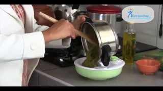 Como preparar Papilla - Almuerzo para bebe de 6 meses - Nutriyachay