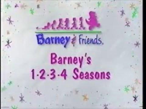barney s 1 2 3 4 seasons custom theme