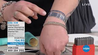 ImpressArt Metal Stamping Jewelry Making Starter Kit