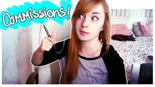 Tips & Tricks; Art Commissions!