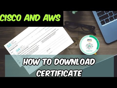 How to Get Certificate from Cisco and Aws Course   ICT Academy