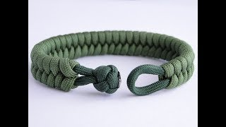 How To Make A Fishtail Knot And Loop Paracord Survival Bracelet Clean Way