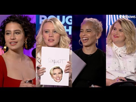 Rough Night cast – Kate McKinnon, Ilana Glazer, Zoe Kravitz, and Jillian Bell.