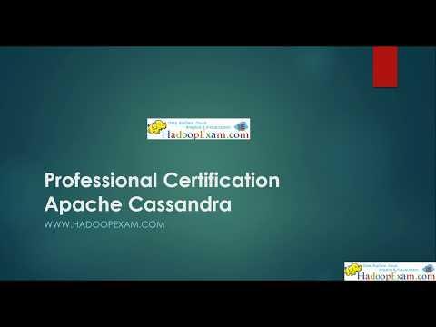 Cassandra Professional Certification - YouTube