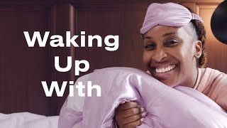 Watch Jackie Aina's Full Morning Hair and Makeup Routine | Waking Up With | ELLE