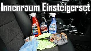 Pflegeset für die Auto Innenraum Aufbereitung    Einsteigerset Innenraum Reinigung