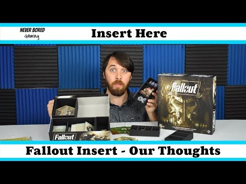 Never Bored Gaming - Insert Here Review (Fallout)