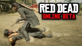 I GOT ATTACKED BY A GHOST! | Red Dead Redemption 2 Outlaw Life #23