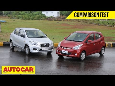Hyundai Eon 1.0 vs Datsun Go | Comparison Test - Hyundai Videos