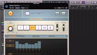 Track Stacking in Logic Pro X