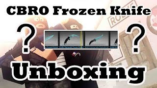 How to get enough credits to unbox knives in cbro - Kênh