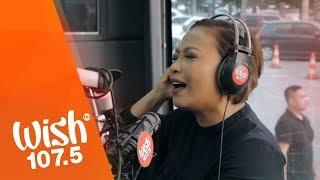 """Jaya performs """"Hanggang Dito Na Lang"""" LIVE on Wish 107.5 Bus"""