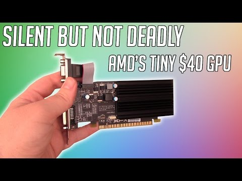 Is This Small and Silent $40 Graphics Card Worth Buying?