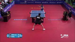 《卓球》2017ブンデスリーガ及川瑞基専修大学vsトキッチスロベニア