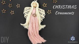 Macrame Angel Tutorial | DIY Christmas Ornaments
