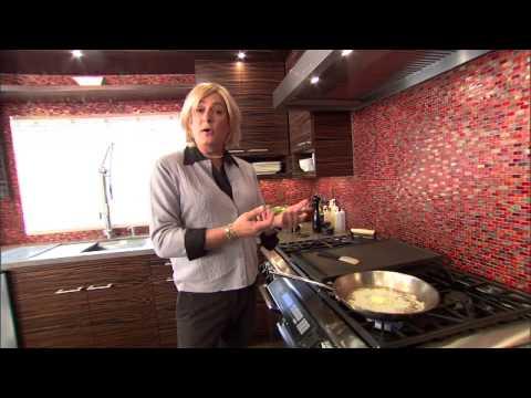 Sam the Cooking Guy as Martha Stewart