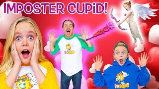 Imposter Cupid on Valentines Day! Kids Fun TV