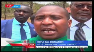 Homa Bay County focus on improving schools for children with special needs