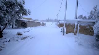 preview picture of video 'ثلوج صبحا صباح الجمعة 20-2-2015'