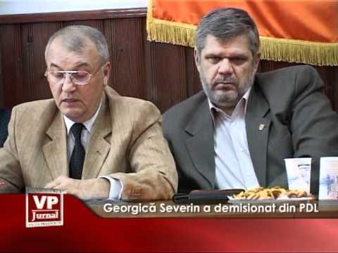 Georgica Severin a demisionat din PDL
