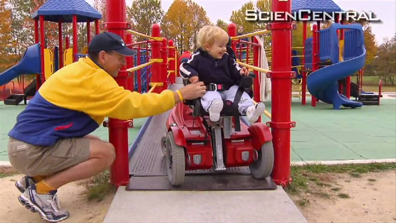 Todder-Sized Robotic Chairs Help Kids With Disabilities Get Around