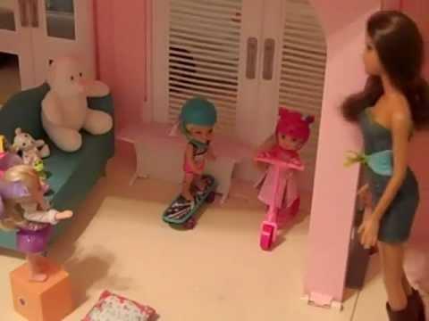 Barbie Dream House!!  Part 4