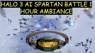 Halo 3 AI Spartan Battle 1 Hour Ambiance