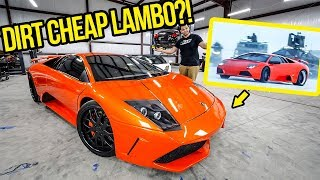 I Just Bought The Lamborghini Murcielago From FAST & FURIOUS! (CHEAPEST IN THE WORLD!!!)