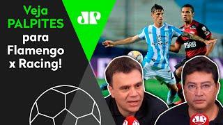 O Flamengo vai fraquejar ou eliminar o Racing na Libertadores? Veja debate
