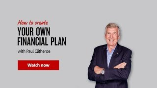 How To Create Your Own Financial Plan With Paul Clitheroe