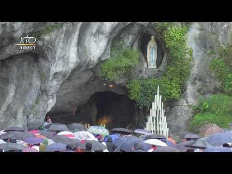 Messe de 10h à Lourdes du 3 octobre 2021