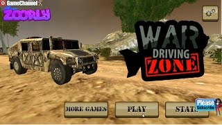 War Driving Zone, Unity3D Monster Truck Games, Car, Army Games, Flash Online Gameplay Video