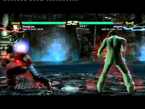Tekken 6 Online: Law [KBB] vs. Jin